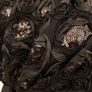 Enfocus Studio Dresses - Enfocus black gown w/sequin detail